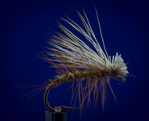 Elk Hair Caddis - olive body