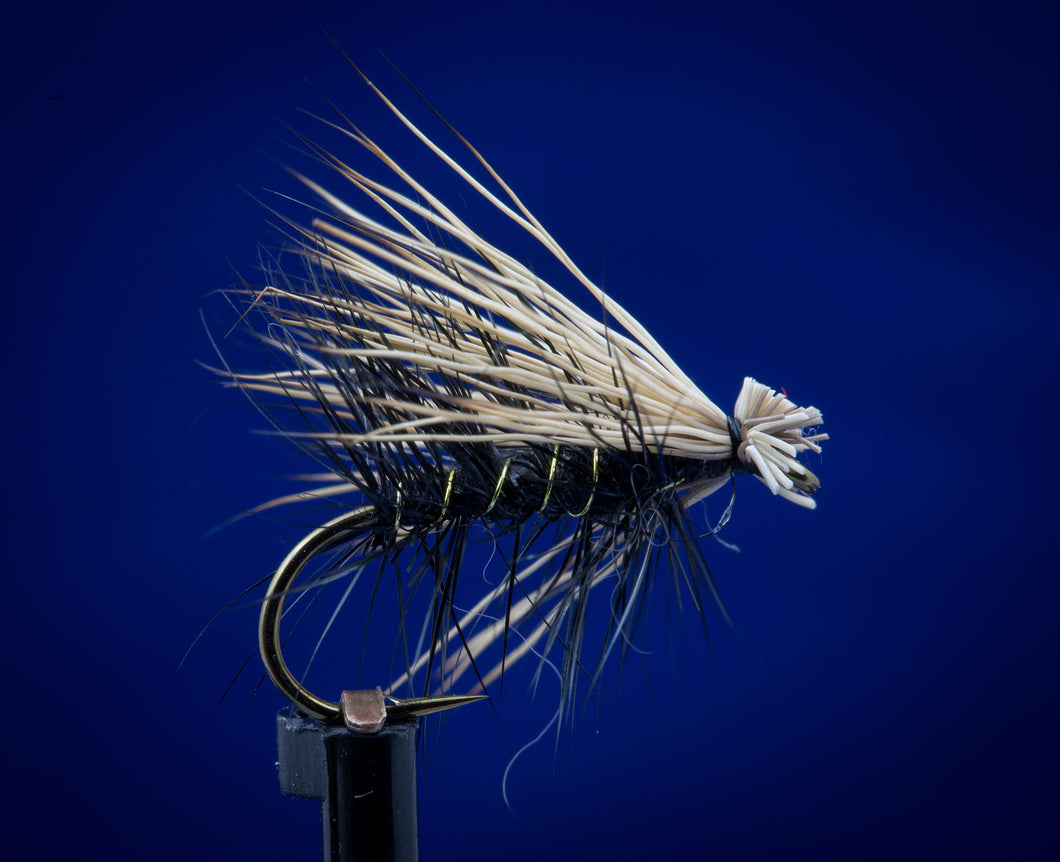 Elk Hair Caddis - black body