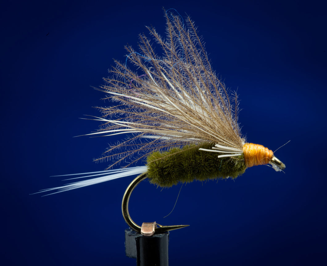 CDC Olive Caddis