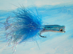 Saltwater Chrystal Popper Blue