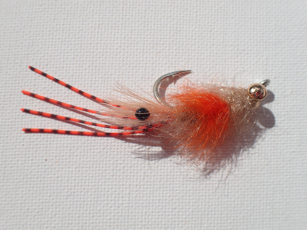 Saltwater Fuzzle Shrimp  Tan/Yabby