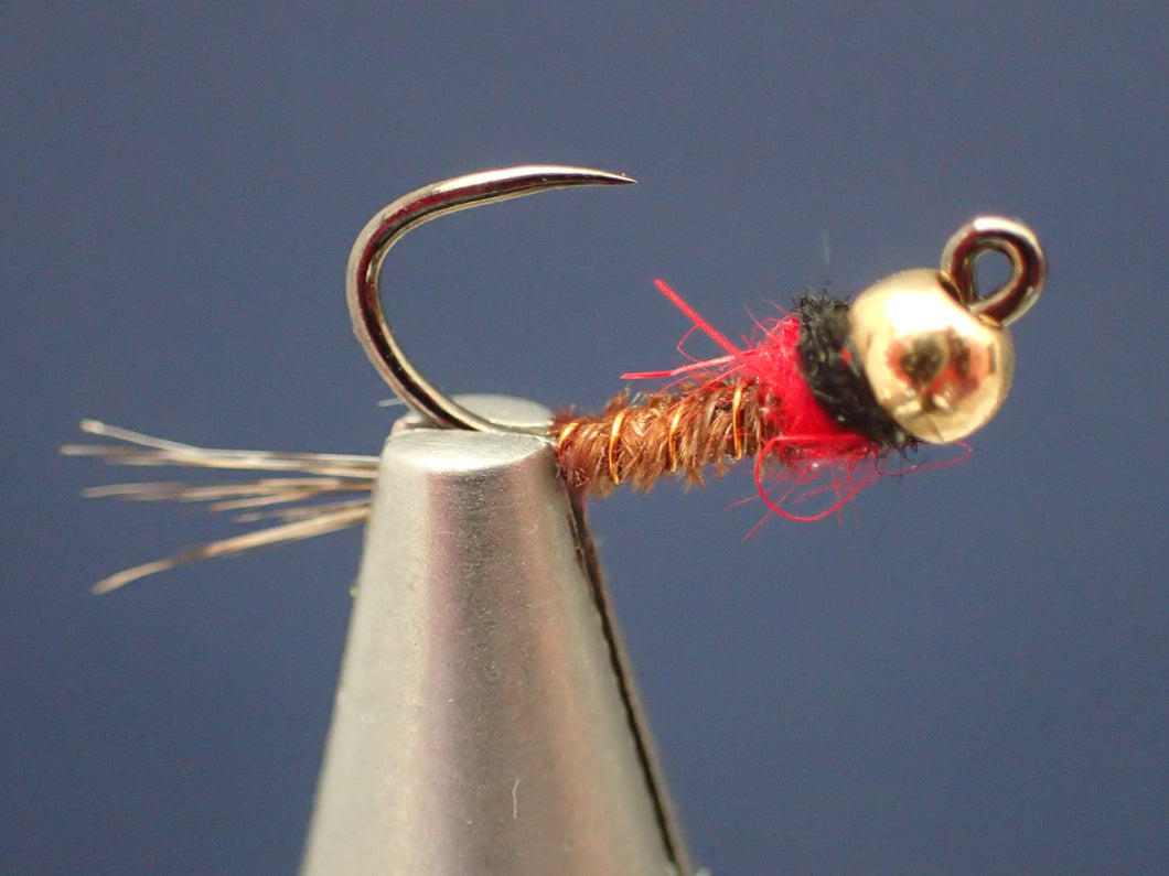 Tactical Hot Spot Jig Head Nymph