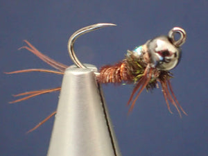 Flashback Pheasant Tail Jig Head Nymph BB