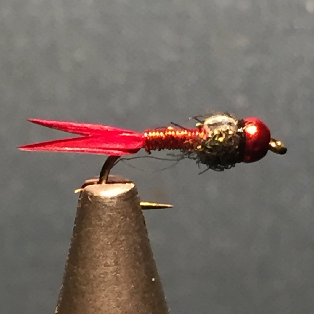 Red Tungsten Copper John Red