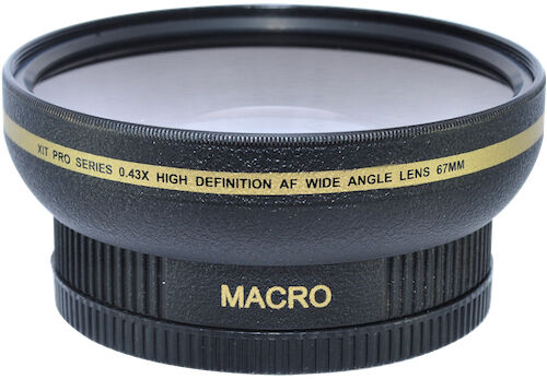 72mm HD 16k Wide Angle Lens for Canon RF 24-240mm f/4-6.3 IS USM Lens