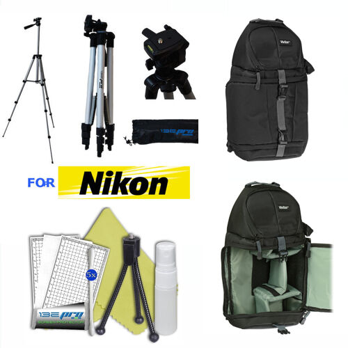 "50"" PRO PHOTO TRIPOD + BACKPACK CARRYING CASE FOR NIKON D7000 D7100 D7200 D3100"