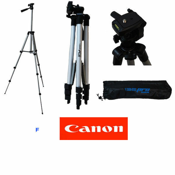 "50"" PROFESSIONAL TRIPOD WITH QUICK RELEASE FOR CANON EOS M5 M3 M10 FAST SHIPPIN"