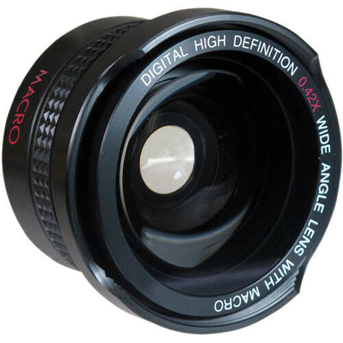 VIVITAR 37mm X42 WIDE ANGLE LENS FOR SONY HVR-A1E,A1U,HD1000U,HANDYCAM DCR-SR45