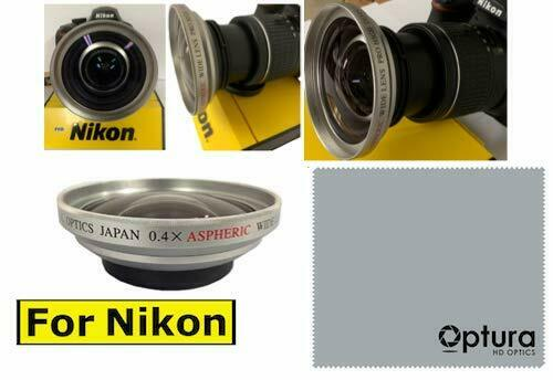 X40 180 DEGREE 8K HD WIDE ANGLE LENS FOR NIKON D3000 D3100 D3000 D3300 D5000 D90