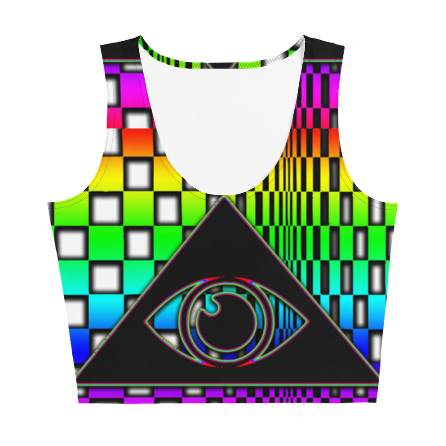 The Illuminated One Rainbow Crop Top