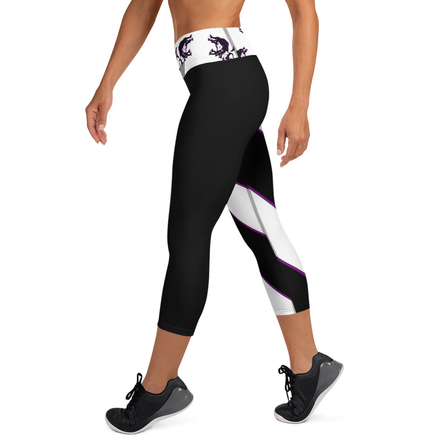 Medusa Energy Yoga Capri Leggings