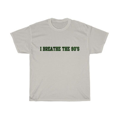 I breathe the 90's Cotton Tee - Attire T