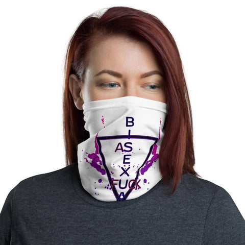 Bisexual AsF Face Mask Neck Cover - Attire T