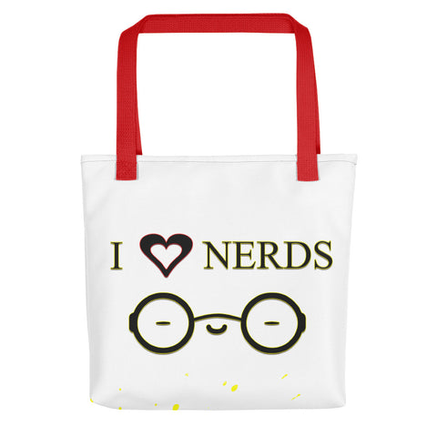 I Heart Nerds Tote Bag - Attire T