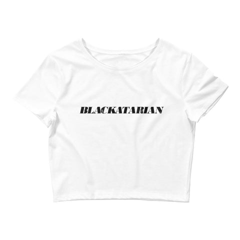 Blackatarian Crop Tee