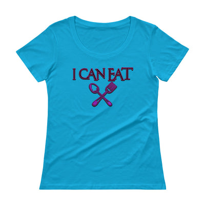 I Can Eat Scoopneck T-Shirt