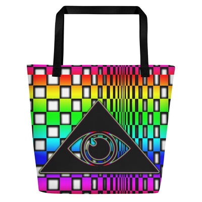 The Illuminated One Rainbow Beach Bag