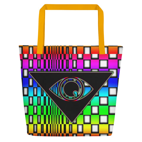 The Illuminated One Rainbow Beach Bag - Attire T