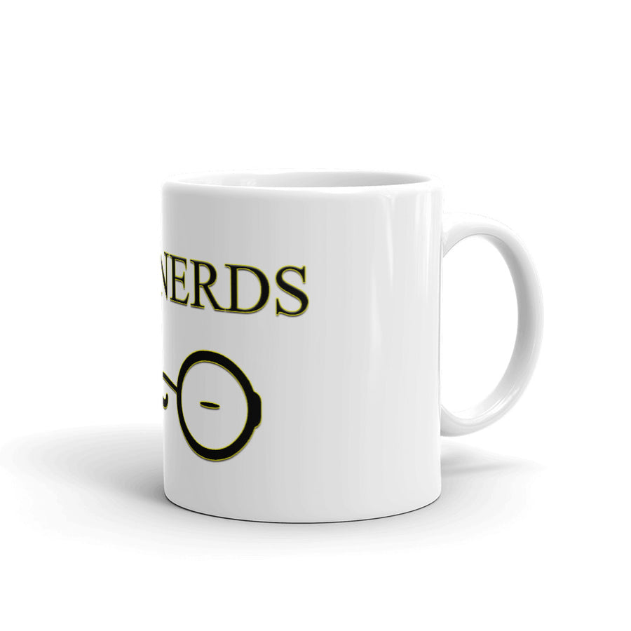 I Heart Nerds Mug