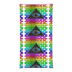 The Illuminated One Rainbow Face Mask Neck Gaiter