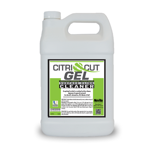 CitriCut Gel - Heavy Duty Citrus Based Paint Clinging Surface Cleaner & Degreaser (Wetwash) - Minoo Corporation