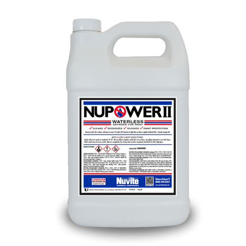 NuPower II Drywash For Painted Surfaces - Minoo Corporation