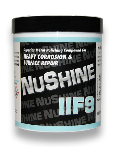 NuShine II - Grade F9 for Heavy Corrosion & Surface Repair - Minoo Corporation