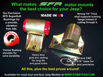 SFR Trail Proof Motor Mounts  Jeep 4.0L