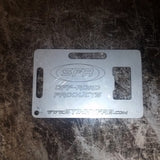 SFR Credit Card Bottle Opener