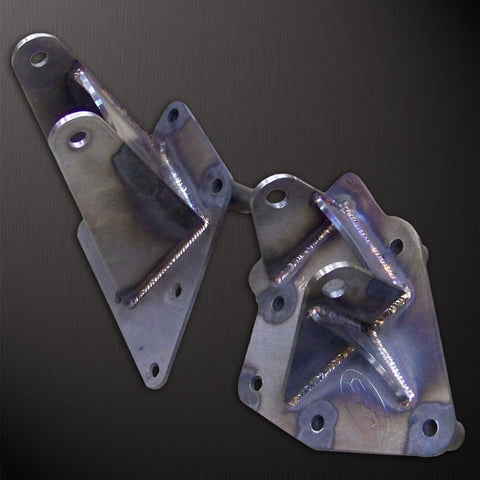 SFR Trail Proof Jeep 00-06 TJ/LJ 4.0L Engine Mounting Plates PAIR
