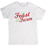 Feast and Farm Branded Kids Tee