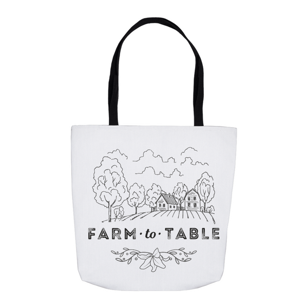 Farm to Table Tote Bag