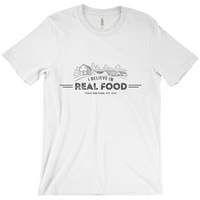 """I Believe In Real Food"" Tee"