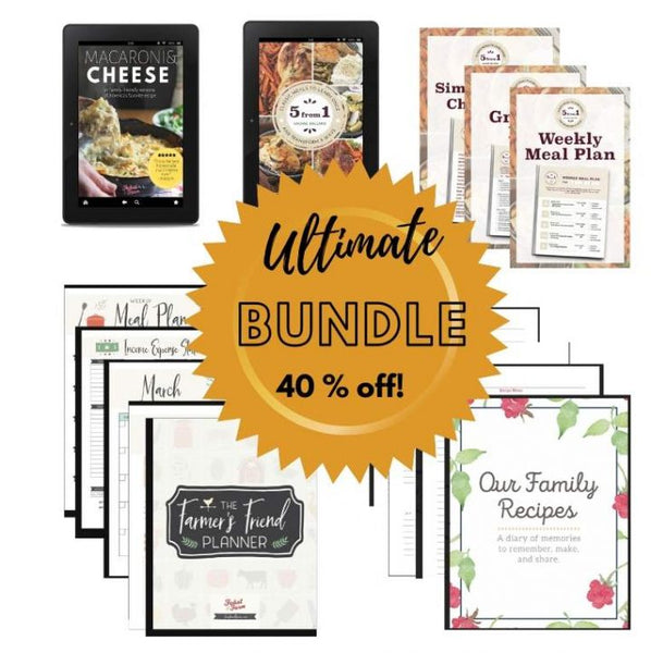 Feast and Farm Ultimate Digital Bundle--Best Value!