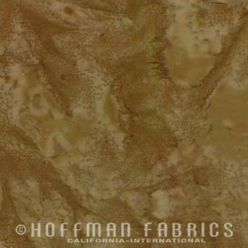 Hoffman Fabrics - 1895 Watercolors - Khaki