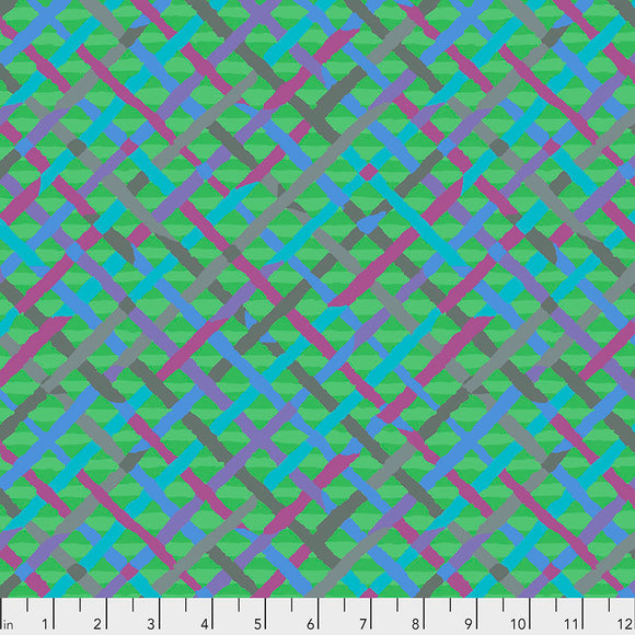 Kaffe Fassett - February 2020 - Mad Plaid - Green