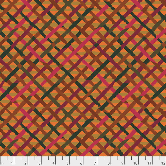 Kaffe Fassett - February 2020 - Mad Plaid - Rust