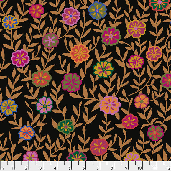 Kaffe Fassett - February 2020 - Busy Lizzy - Black
