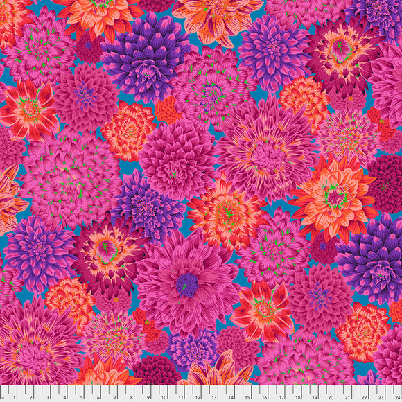 Kaffe Fassett - August 2020 - Dancing Dahlias - Red