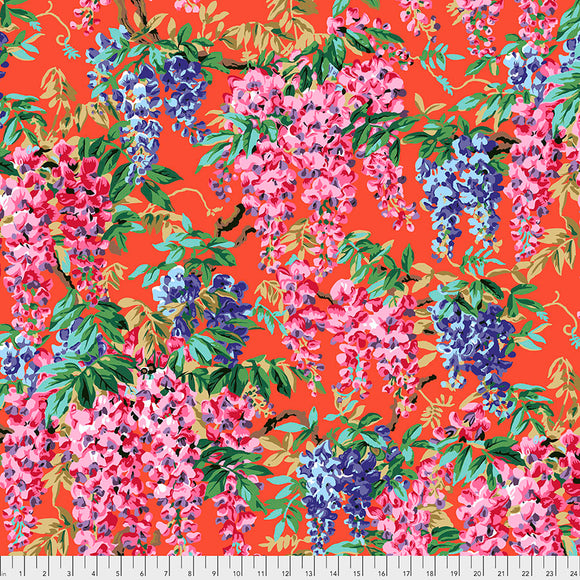 Kaffe Fassett - August 2020 - Wisteria - Red