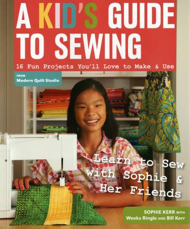 A Kids Guide To Sewing Book