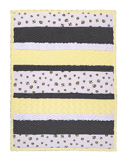 Shannon Bambino Bee Happy Cuddle Quilt Kit