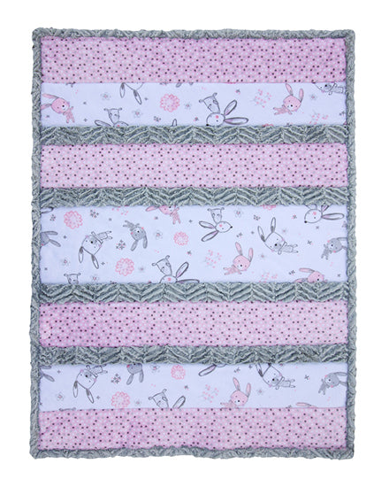 Shannon Bambino Bunny Hunny Cuddle Quilt Kit