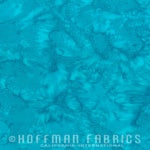 Hoffman Fabrics - 1895 Watercolors - Seasalt