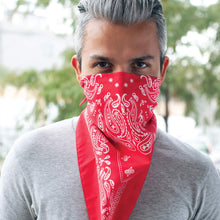Load image into Gallery viewer, The Better Bandana™ v2 - Red