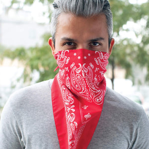 The Better Bandana™ v2 - Red