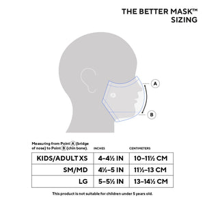 The Better Mask for Kids™ - Bright Blue