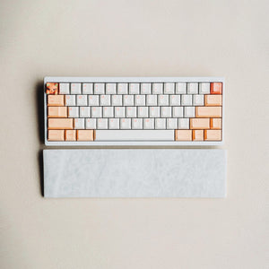 [GB] Marble Wrist Rest - White