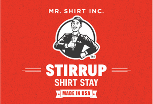 The Mr. Shirt Stirrup Shirt Stay