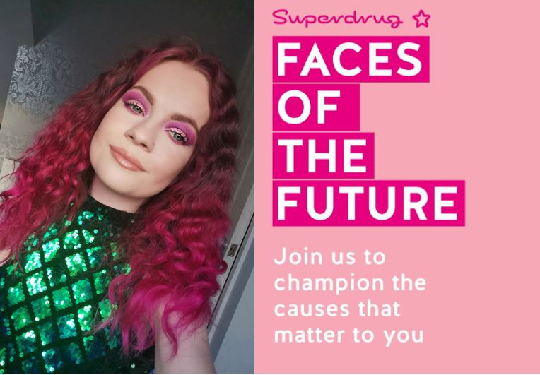 Superdrug Faces of the Future Winner!!